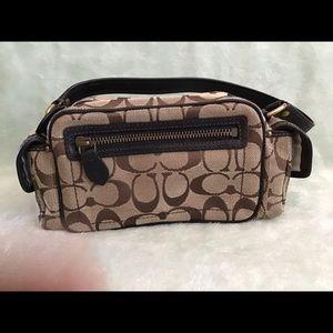 Coach signature loco mini handbag